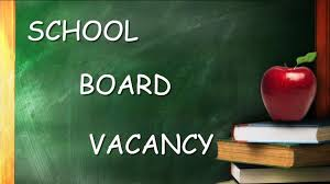 Coopersville Area Public Schools Board of Education Vacancy